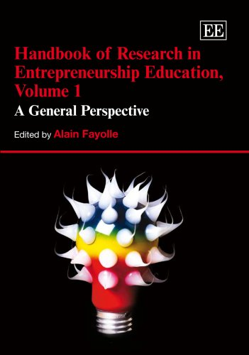 Handbook of Reseach in Entrepreneurship Education: