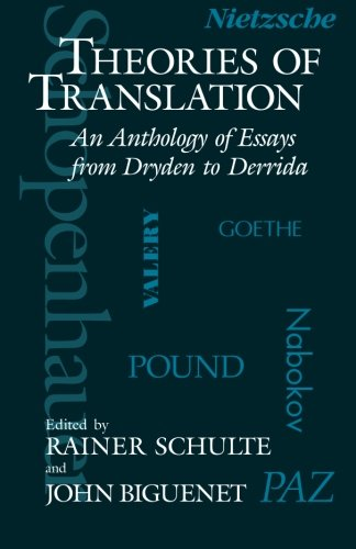 Theories of Translation: An Anthology of Essays from...