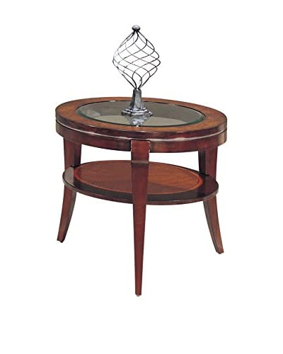 Bassett Mirror Company Ashland Heights Round End Table, Cherry