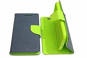 Prego Blue-Green Mercury Goospery Fancy Diary Wallet Flip Cover For Zenfone 2