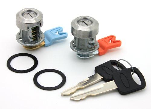 Lockcraft Pro 58852 Door Lock Cylinder Pair In Chrome For
