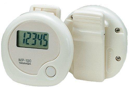 【Amazonの商品情報へ】山佐(YAMASA) 山佐万歩計 万歩 ホワイト MP-100W