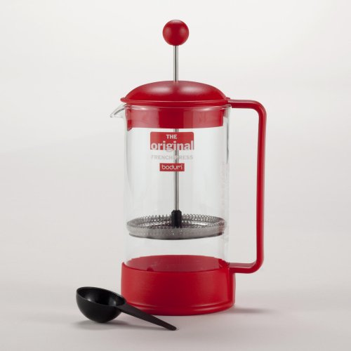 Red Bodum Brazil French Press Coffee Maker - World Market