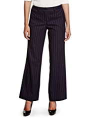 Limited Edition Straight Leg Striped Trousers