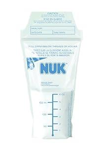 (史低)NUK/Gerber Seal N Go Disposible Liner嘉宝母乳储存袋25个装$5.95