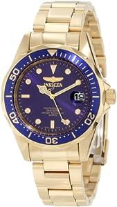 Invicta Men's Pro Diver 23kt Gold plated 8937
