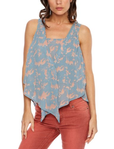 House of Dereon 2 Layer Women's Tank Top Faded