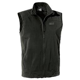 Jack Wolfskin Activate Gentlemen black (Size: XL) vest