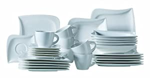 Verso La Musica 921353 30-Piece Combi-Set with 6 x Cups/ Saucers/ Dessert Plates/ Soup Plates and Flat Plates