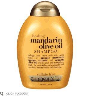 Organix Shampoo, Healing Mandarin Olive Oil 13