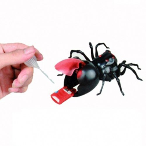 DIY Green Energy Educational Salt Water Fuel Power Moving Spider Toys
