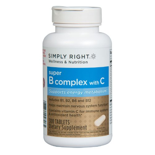 Member's Mark Super B Complex with C Dietary Supplement (300 tablets) (Super B Complex Energy compare prices)