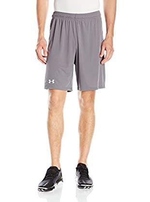 Under Armour Short Entrenamiento Challenger Knit (Gris Claro)