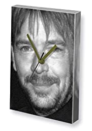 ADAM WOODYATT - Canvas Clock (LARGE A3 - Signed by the Artist) #js001