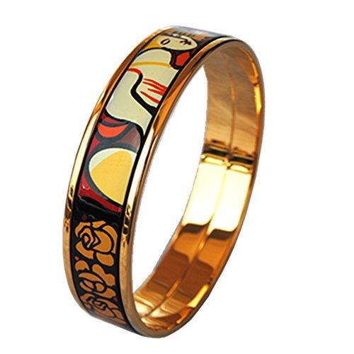 enamel-bangle-bracelet-width-15mm-18k-gold-plated-woman-and-rose-inner-diameter-63mm