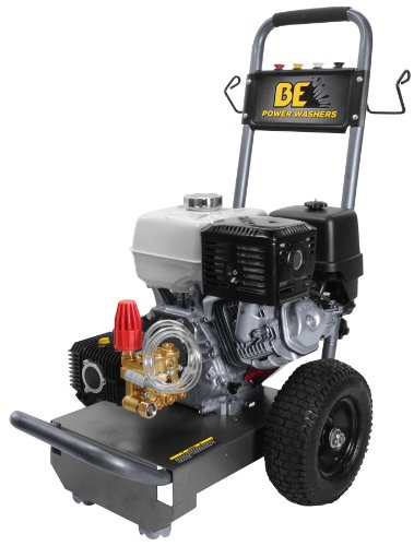 Be Pressure B3713Hc Gas Powered Pressure Washer, Gx390, 3700Psi, 4 Gpm front-80284