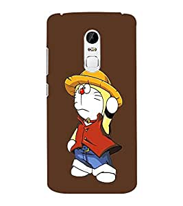 EPICCASE Dorae animated cartoon Mobile Back Case Cover For Lenovo Vibe X3 (Designer Case)