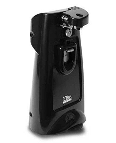 Elite Cuisine ERH-18 Maxi-Matic Tall Electric Can Opener, Black