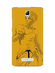 Amez designer printed 3d premium high quality back case cover for Lenovo A2010 (Remeo ze a junyoung)