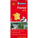 Carte France 2014 Michelin - Meilleure vente