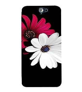 PrintVisa Flower Design 3D Hard Polycarbonate Designer Back Case Cover for HTC One A9