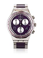 Swatch Reloj de cuarzo Woman SECRET THOUGHT AUBERGINE YCS573G 40 mm