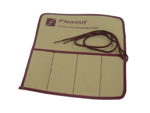 Flexcut KN00 4 Piece Knife Roll