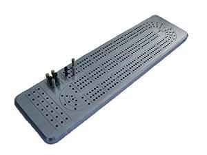 3 Track Cribbage Board Game made of Billet Aluminum