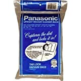 Panasonic Type U-6 Micron vacuum cleaner bags #MC-V145MT- Genuine - 12 pack