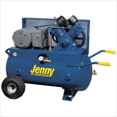 30 Gallon Tank 5 HP Electric 230 Volt Single Stage Wheeled Portable Air Compressor Air Line Filter - Metal Bowl - 3/8 NPT: Yes, Lubricator - Bowl Type - 3/8 NPT: No, Dual Control: No