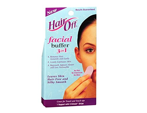 Hair Off Facial Buffer (No No Buffer Pads compare prices)