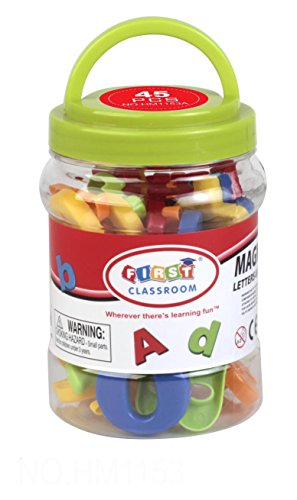 "First Classroom 1.5"" Magnetic Letters and Numbers Playset (45-Piece) - 1"