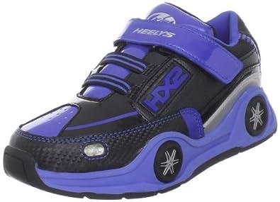 Heelys Spin, Chaussures de skate garçon - Bleu - Blau (Blue/Black/Silver), 1.5 UK