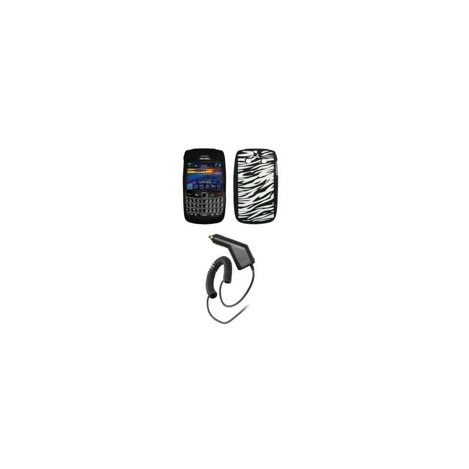 Premium Zebra Stripes Design Soft Silicone Gel Skin Cover Case