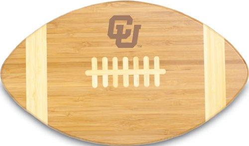 NCAA Colorado Golden Buffaloes Touchdown! Bamboo Cutting Board, 16-Inch