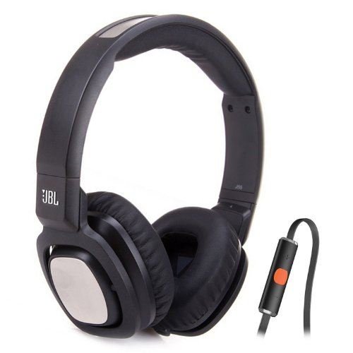 J55I High-Performance On-Ear Headphones Phones With Jbl Drivers, Rotatable Ear-Cups And Microphone