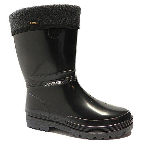 demar-gummistiefel-gefuttert-rainny-lux-38-39-schwarz