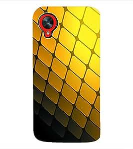 Fuson 3D Printed Pattern Designer Back Case Cover for LG Google Nexus 5 - D1103