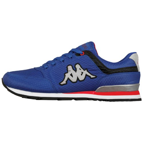 Kappa Unisex - Adult LOUIS BEACH Footwear unisex, Mesh Low Blue Blau (6011 BLUE/BLACK) Size: 38