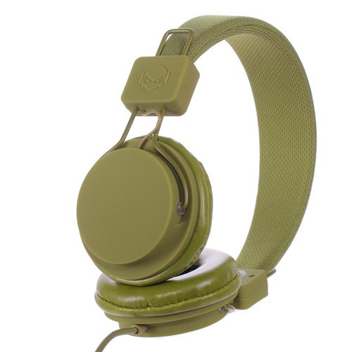Subjekt Tnt-Qm1259 Tnt Headphones With Microphone - Retail Packaging - Military Green