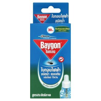 2 X Refillable Protector Raid Mosquito Baygon Electric Liquid Type - Pine Scent