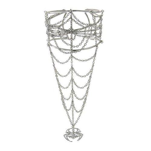 Spiderman Web Bracelet and Spider Ring