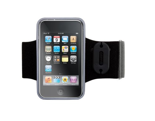 Griffin AeroSport Armband Case for iPod touch 2G, 3G (Black)