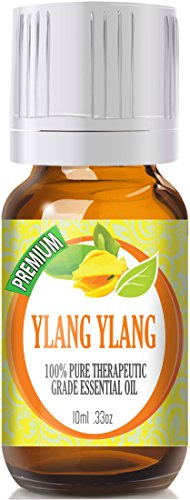 Ylang Ylang - 100% Pure, Best Therapeutic Grade Essential Oil (Type III) - 10ml