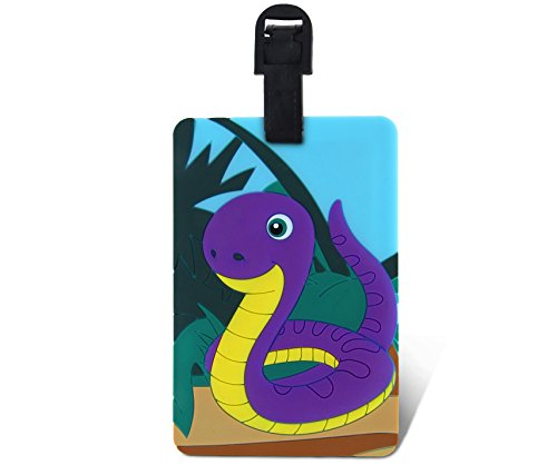 WeGlow International Fun Luggage Tag - Snake - 1