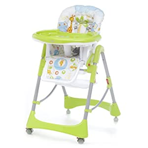 Cambrass 58 x 82 x 107cm Baby Party Highchair (Giggi and Lele Unic)