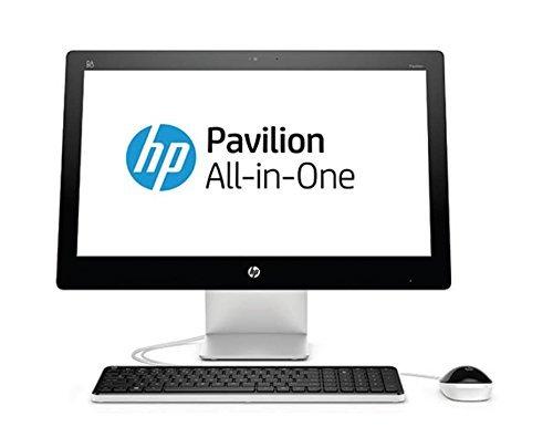 "HP P1H45EA - Ordenador All In One (Pantalla de 23"" FullHD, Intel Core i3-4170T, 4 GB de RAM, 1 TB de disco duro, Windows 10), color negro y plata - Teclado QWERTY español"