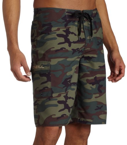 O'Neill Young Men's Clean And Mean Boardshort,Camo,38