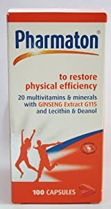 Pharmaton Restore Physical Efficiency 100 Capsules