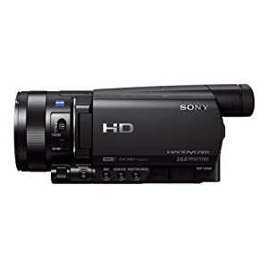 Sony HDR-CX900 High Definition Flash Camcorder (2,5 cm (1 Zoll) Exmor R Sensor, 12 fach optischer Zoom, eingebauter ND-Filter, WiFi, NFC Funktion) schwarz